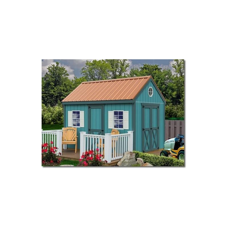 Best Barns Regency 8x12 Wood Storage Shed Kit (Regency_812)
