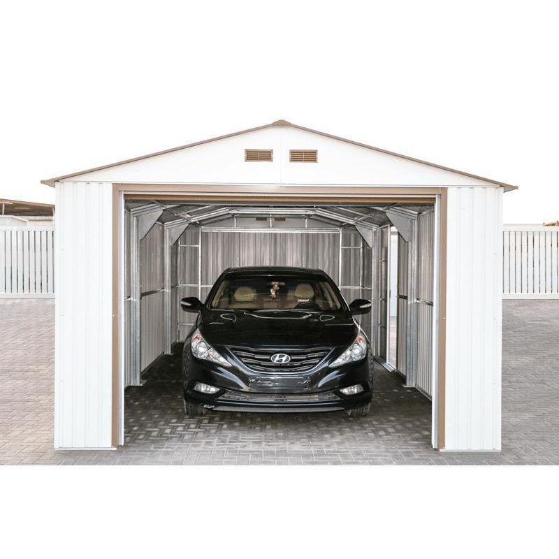 DuraMax 12x38 Imperial Steel Storage Garage Kit - White (54931)