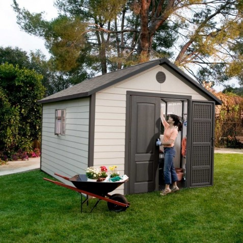 Lifetime 11x26 Outdoor Storage Shed Kit (6415/50125)