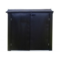 Arrow 5x3 Versa-Shed Locking Horizontal Storage Shelter - Onyx (EVRS53)
