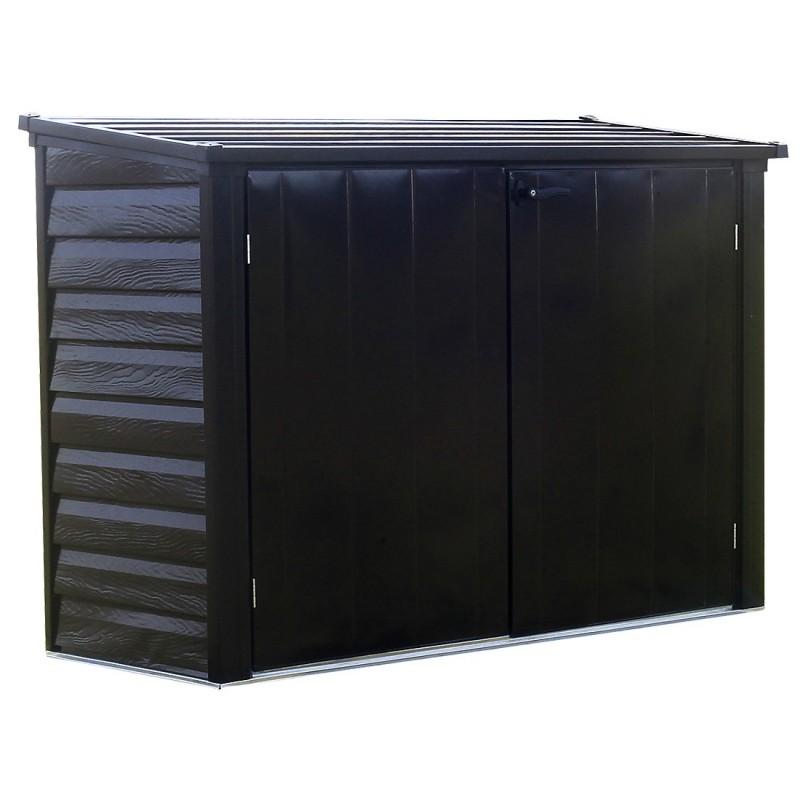 Arrow 6x3 Versa-Shed Locking Horizontal Storage Shelter - Onyx (EVRS63)