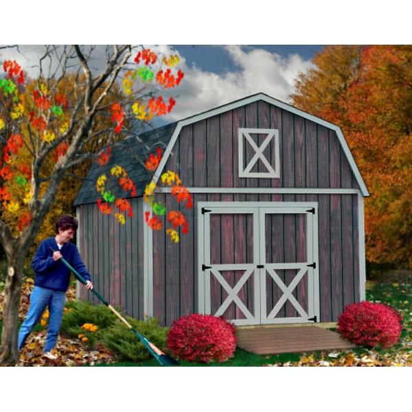 Pre Cut Timber Frames For Buildings Storage Garages And More: Denver 12x20 Wood Storage Shed Building Kit