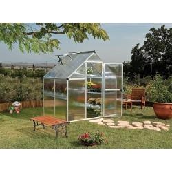 Palram 6x4 Mythos Greenhouse Kit - Silver (HG5005)