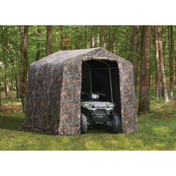 Shelter Logic 8x8 Peak Camouflage Shed In A Box Shed Kit