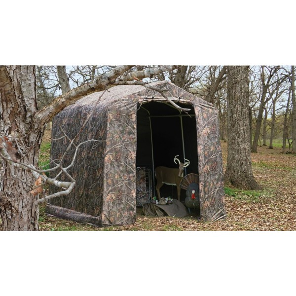 Shelter Logic 8x8 Peak Camouflage Shed In A Box Shed Kit 70198
