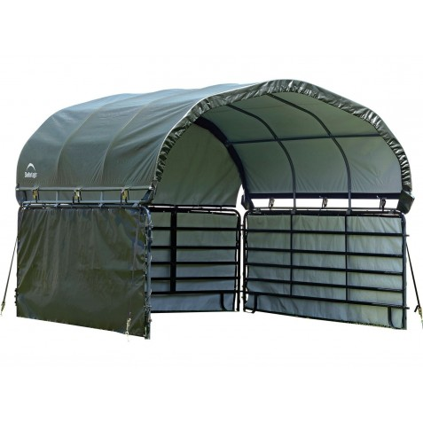 Shelter Logic Enclosure Kit Only 12x12 for Corral Shelter - Green (51482)
