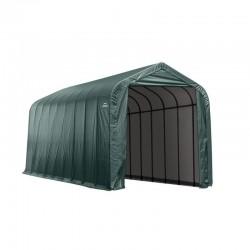 Shelter Logic 16x40x16 Peak Style Shelter, Green (95844)