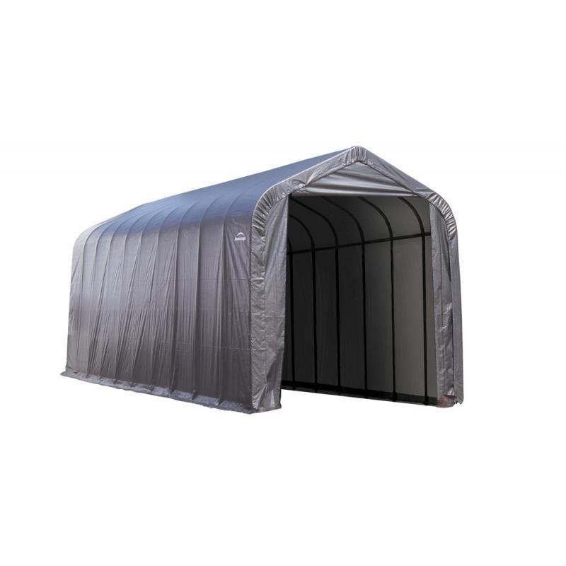 ShelterLogic 16x44x16 Peak Style - Gray (95943)