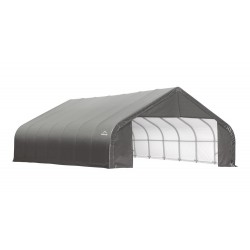 Shelter Logic 28x24x16 Peak Style Shelter Kit - Grey (86047)