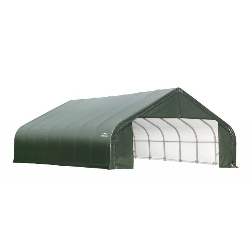 Shelter Logic 28x24x20 Peak Style Shelter Kit - Green (86067)