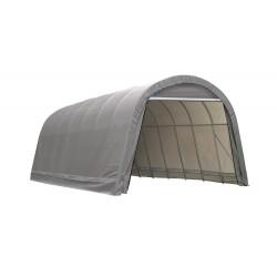 Shelter Logic 15x28x12 Round Style Shelter Kit - Grey (95333)