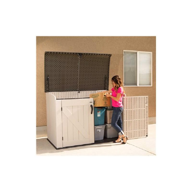 Lifetime Horizontal Outdoor Storage Box (60170)