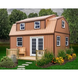 Best Barns Lakewood 12x24 Wood Storage Shed Kit (lakewood_1224)