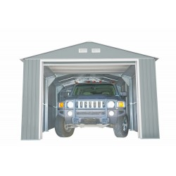 DuraMax 12x20 Light Grey Imperial Metal Storage Garage Kit (50952)