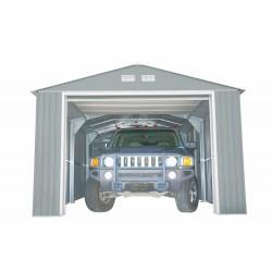 DuraMax 12x20 Light Grey Imperial Metal Storage Garage Building Kit (50952)