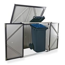 Duramax Trash Bin Storage - Anthracite w/ White Trim (74051)