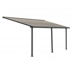 Palram 10x20 Olympia Patio Cover Kit - Gray/Bronze (HG8820)