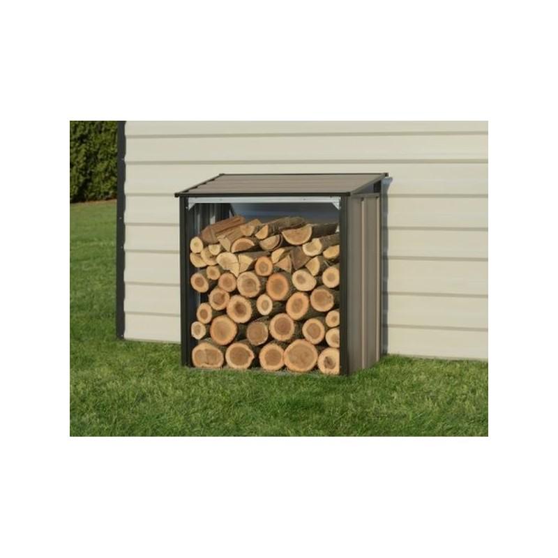 Arrow 4x2 Firewood Rack - Mocha (90175)