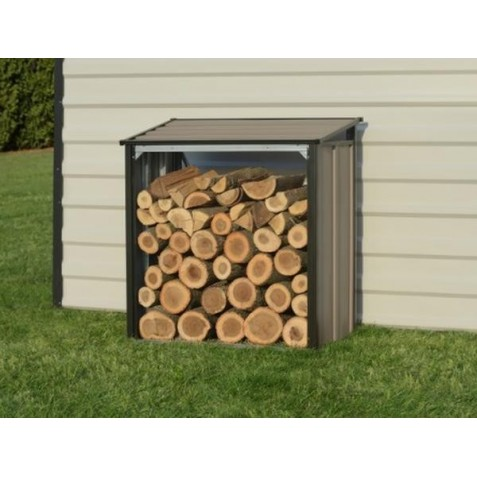 Arrow 4x2 Firewood Rack - Mocha (90175)