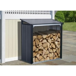 Arrow 4x2 Firewood Rack - Anthracite (90174)