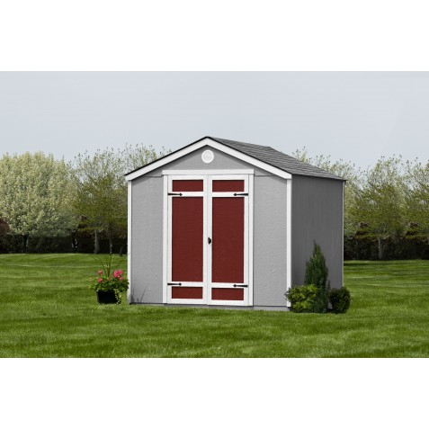 Handy Home Pinehurst 8x8 Wood Storage Shed Kit with Foor