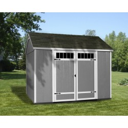Handy Home Bridgeport 10x8 Wood Storage Shed Kit (HHPBRIDGEPORT10X8)