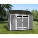 Handy Home Bridgeport 10x8 Wood Storage Shed Kit (18525-0)