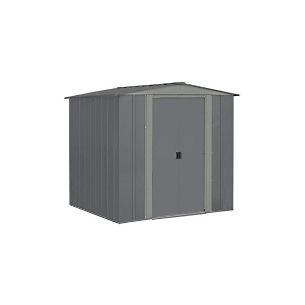 Garden Sheds 6x7: Arrow 6x7 Steel Storage Shed Kit