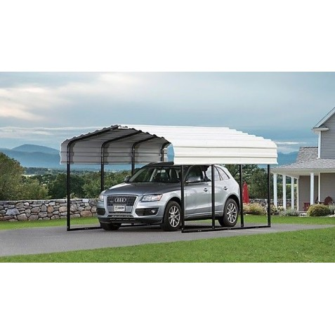 Arrow 10'x15'x7' Steel Carport Kit (CPH101507)