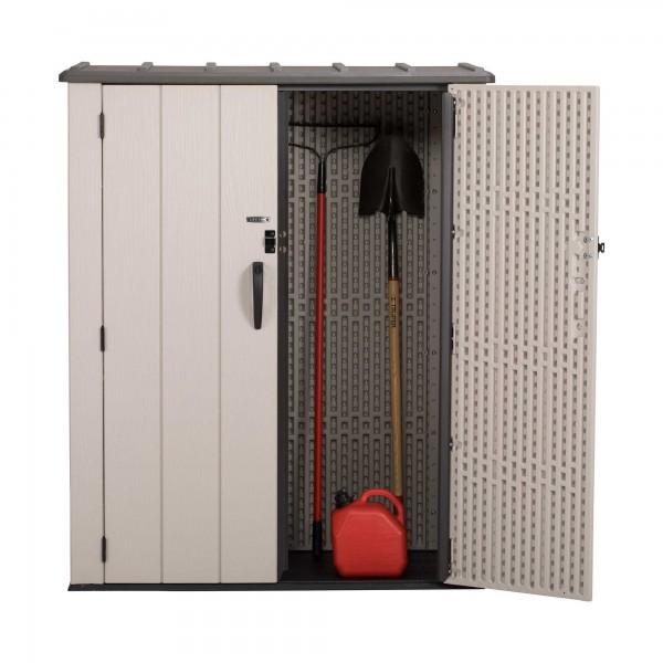 Lifetime Vertical Plastic Storage Shed Kit 60280