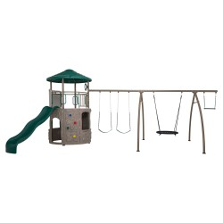 Lifetime Adventure Tower w/ Spider Swing - Earthtone (90804)