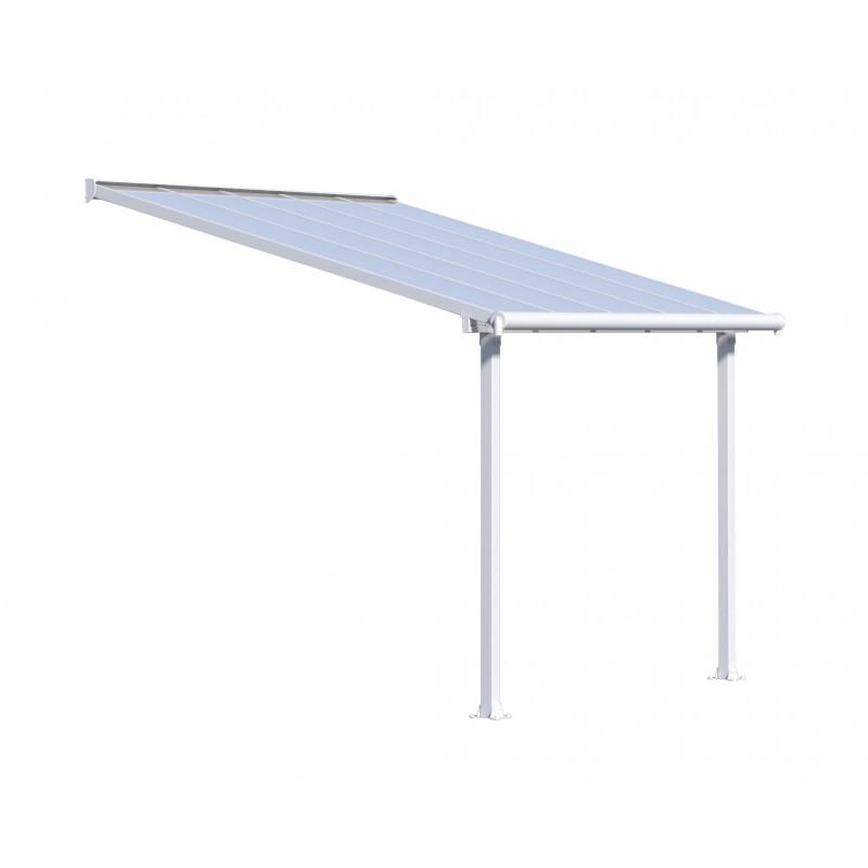 Palram Olympia 10x10 Patio Cover - White (HG8810W)