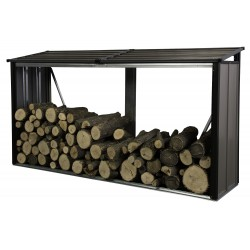 Arrow 8x2 Firewood Rack - Mocha (90177)
