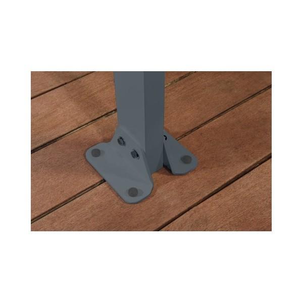 Palram 1038 Feria Patio Cover Kit Gray Hg9438