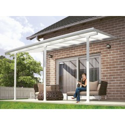 Palram 10x44 Feria Patio Cover Kit - White (HG9344)