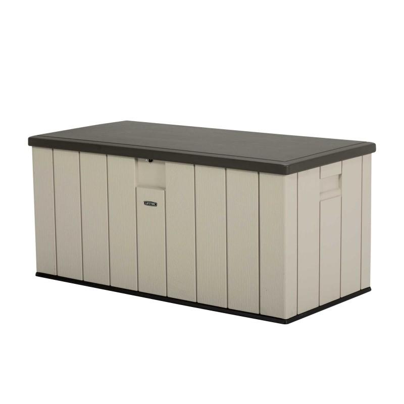 Lifetime Heavy-Duty 150 Gallon Outdoor Deck Storage Box (60254)