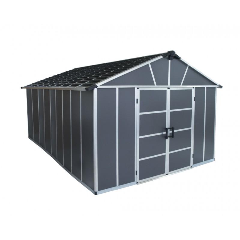 Palram Yukon 11x17 Storage Shed Kit (HG9917SGY)