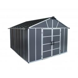 Palram Yukon 11x13 Storage Shed Kit - Gray (HG9913SGY)