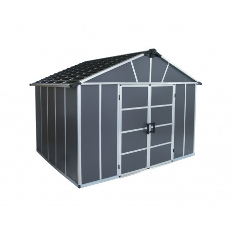 Palram Yukon 11x9 Storage Shed Kit - Gray (HG9909SGY)