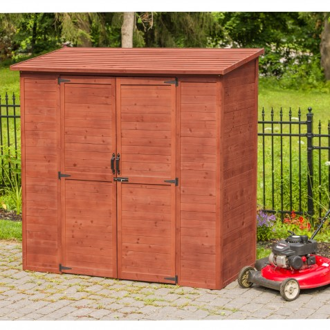 Leisure Season Extra Large Storage Shed Wood Kit (ELSS2003)
