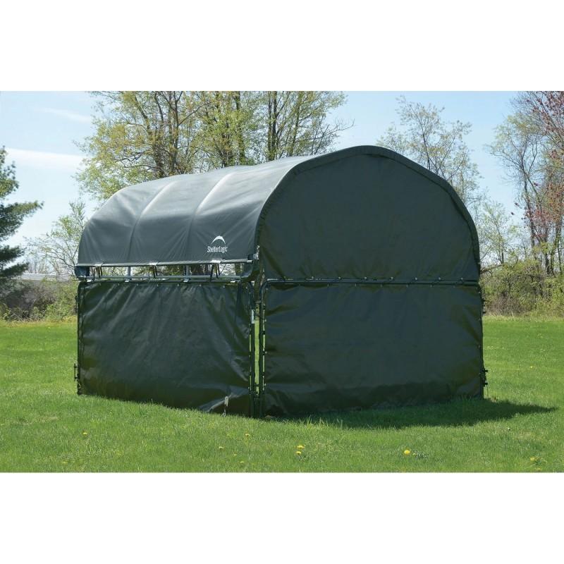 Shelter Logic Bottom Panels Enclosure Kit Only for 10x10 Corral Shelter - Green (51483)