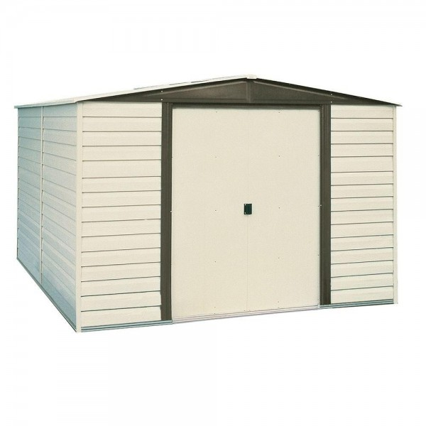 Arrow Vinyl Dallas 10x8 Storage Shed Kit Vd108