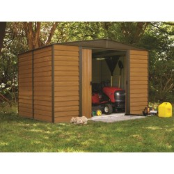 Arrow Euro Dallas (Woodridge) 10x12 Steel Shed Kit (WR1012)