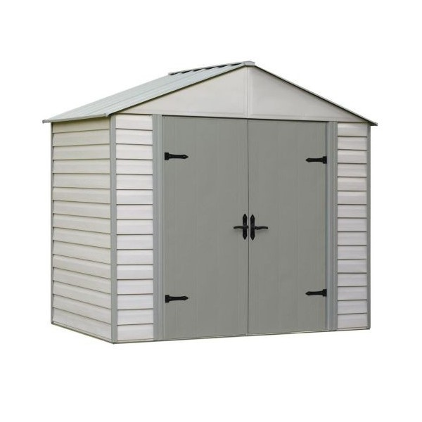 Arrow 10x7 Viking Vinyl Coated Steel Shed Kit Vvcs107