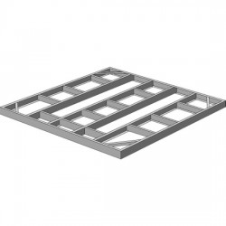 Arrow Sheds Foundation Base Kit 4x10, 8x6 or 10x6 (FDN106)