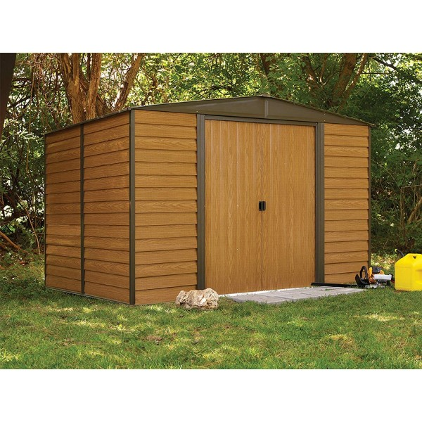 Arrow Woodridge 10x8 Metal Storage Shed Kit Wr108